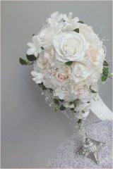 キャスケードブーケ スワロ カトレア 幅(花のみ)22cm 色違い可
