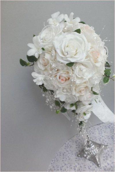 画像1: キャスケードブーケ スワロ カトレア 幅(花のみ)22cm 色違い可