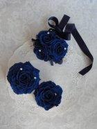 他の写真2: ドレスにあわせてデザイン 大きめへッドドレスセット 薔薇&アクセサリー