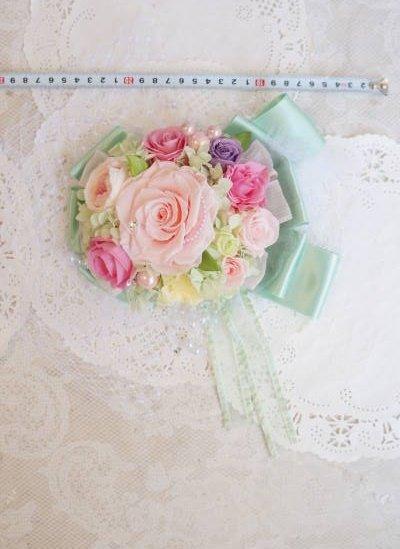 画像3: ボンネ ヘッドチュール&スワロII プリザーブドヘッドドレスドレス