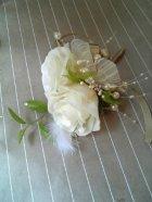 他の写真2: セミキャスケードブーケ オフホワイト