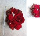 他の写真1: ドレスにあわせてデザイン 大きめへッドドレスセット 薔薇&アクセサリー
