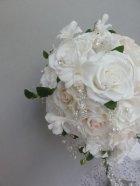 他の写真1: キャスケードブーケ スワロ カトレア 幅(花のみ)22cm 色違い可