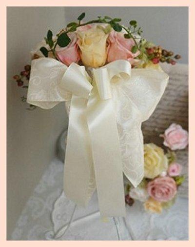 画像3: ラウンドブーケ ナチュラル 幅(花のみ)22cm