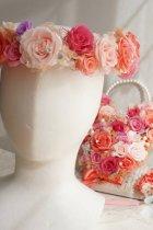 他の写真2: 花冠 大き目薔薇 タイプ