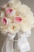 他の写真3: ロングキャスケードリュクス オールドローズ &スワロ横幅(花のみ)22cm長さ約60