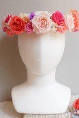 花冠 大き目薔薇 タイプ
