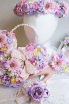他の写真1: 花冠 アーティフィシャルフラワー リュクスタイプ