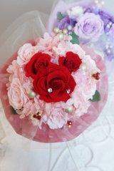 17cm(花のみ)周りはチュール ミッキー赤 色違い可