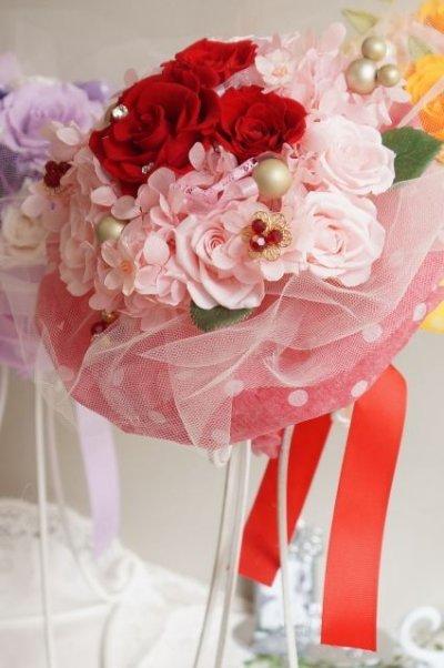 画像4: 17cm(花のみ)周りはチュール ミッキー赤 色違い可