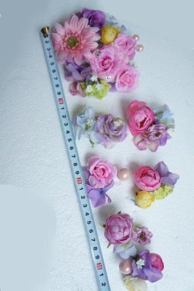 画像4: ヘッドドレス  ミッキーシェイプ 小花セット キャンペーン価格 アーティフィシャルフラワー