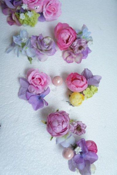 画像3: ヘッドドレス  ミッキーシェイプ 小花セット キャンペーン価格 アーティフィシャルフラワー