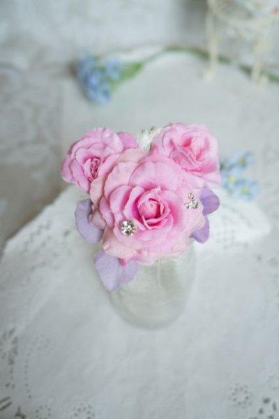 画像5: ヘッドドレス  ミッキーシェイプ 小花セット キャンペーン価格 アーティフィシャルフラワー