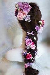 ヘッドドレス  ミッキーシェイプ 小花セットII キャンペーン価格 アーティフィシャルフラワー
