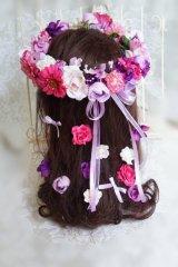 花冠とこ花のセット アーティフィシャルフラワー