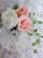 他の写真1: へッドドレス 揺れるパールフリンジ セット