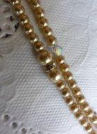 他の写真1: へッドドレス アモローサパール&スワロコードセットゴールド系